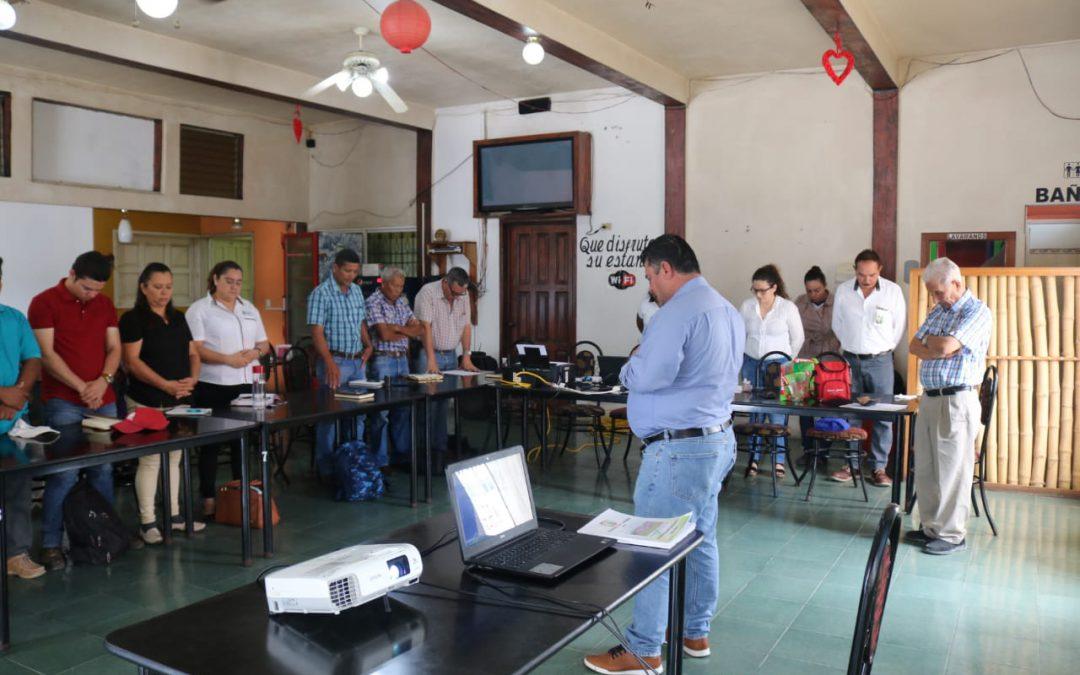 Primera reunión del Consejo Municipal de Desarrollo COMUDE del año 2020